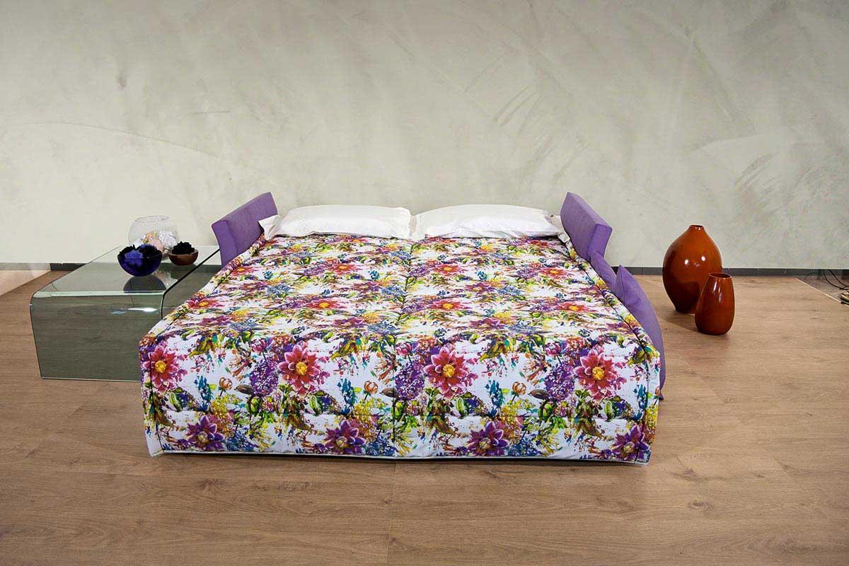 Divano letto fantasia floreale, divano letto Atena  Rima Sofa & Beds