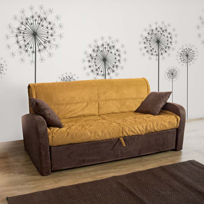divano letto dafne, divano sfoderabile, sofa with removable covers