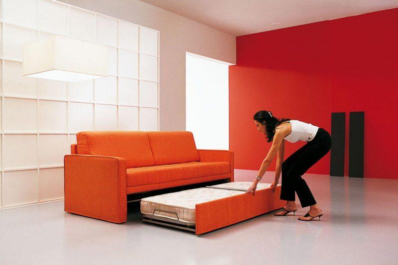 Divano letto a tre posti divano letto dual rima sofa beds - Divano smontabile ...