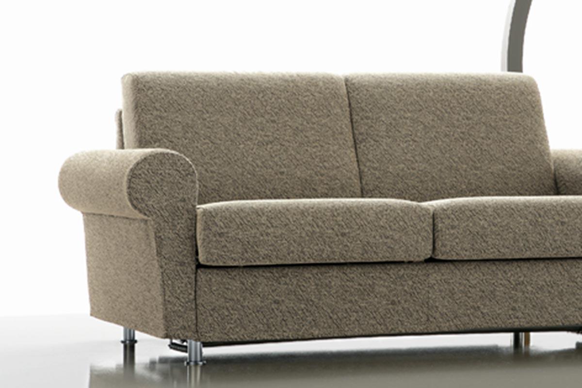Divano letto classico divano quick classic rima sofa beds - Divano smontabile ...