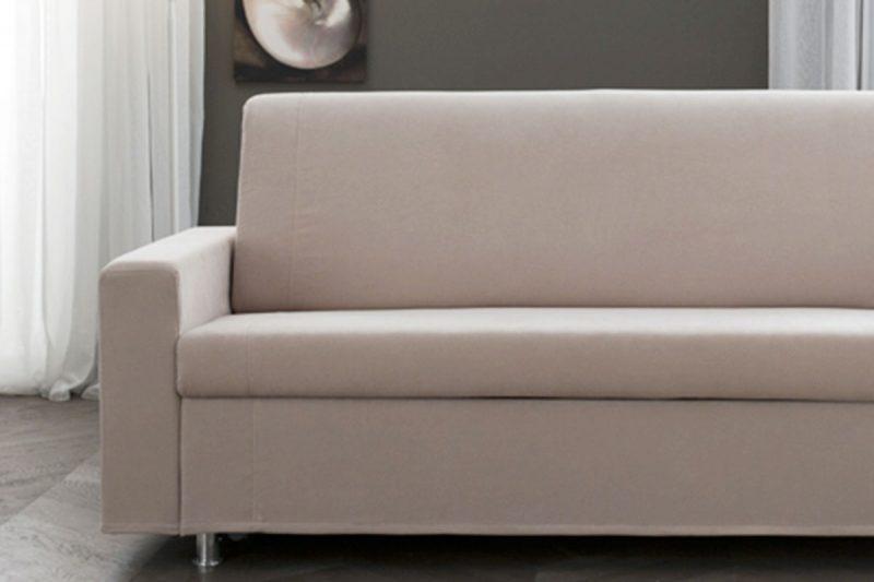 Divano letto pratico divano letto sfoderabile rio rima - Divano letto smontabile ...