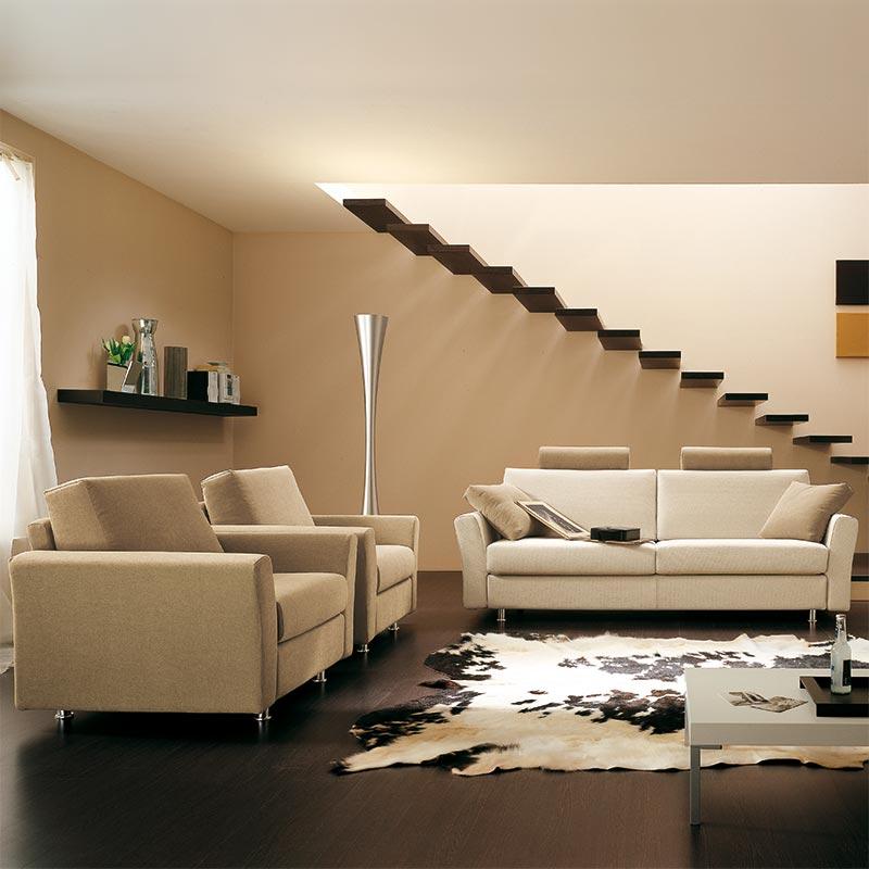 divano con penisola, sofa with peninsula