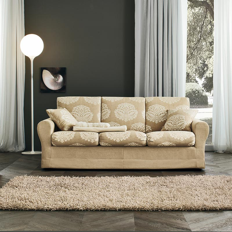 divano tiffany, sofa with container, tiffany sofa