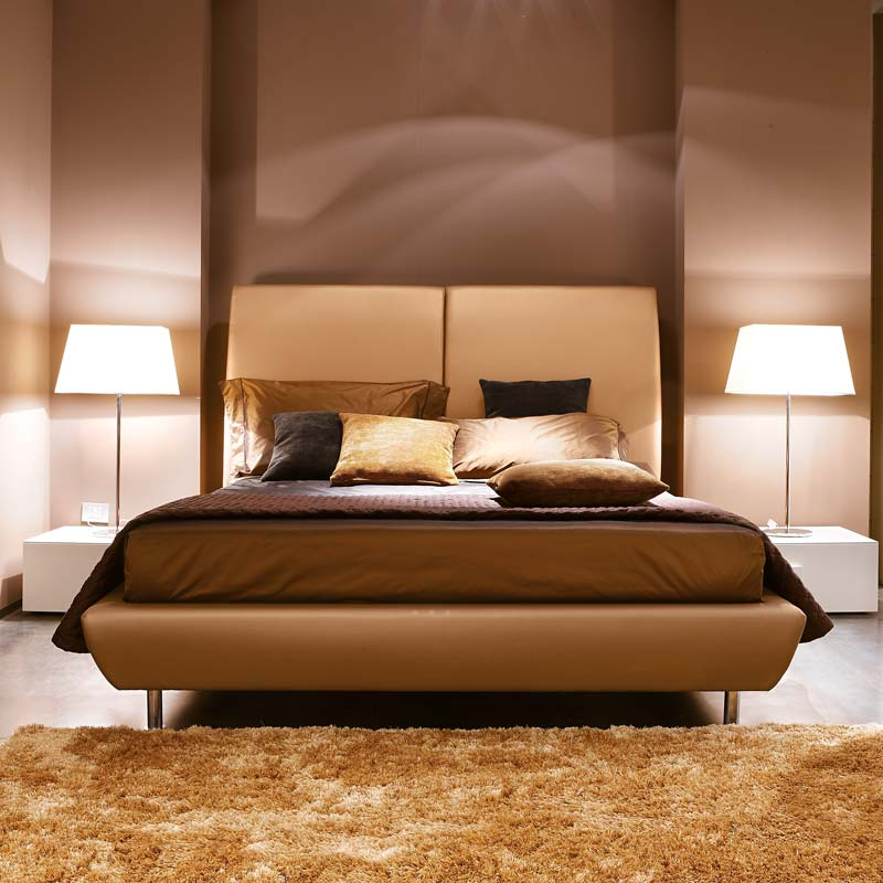 letto virgola, virgola bed