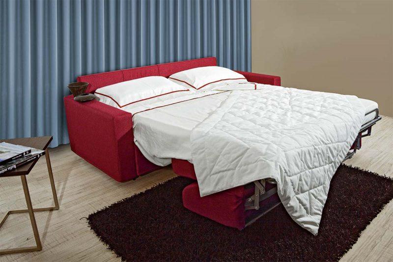 Divano letto per salotti moderni divano letto block - Divano letto smontabile ...