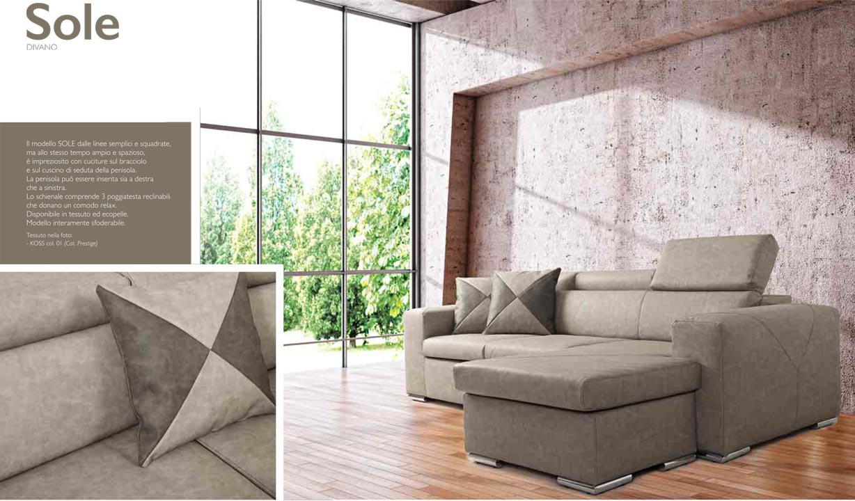 catalogo divani, sofa catalogue